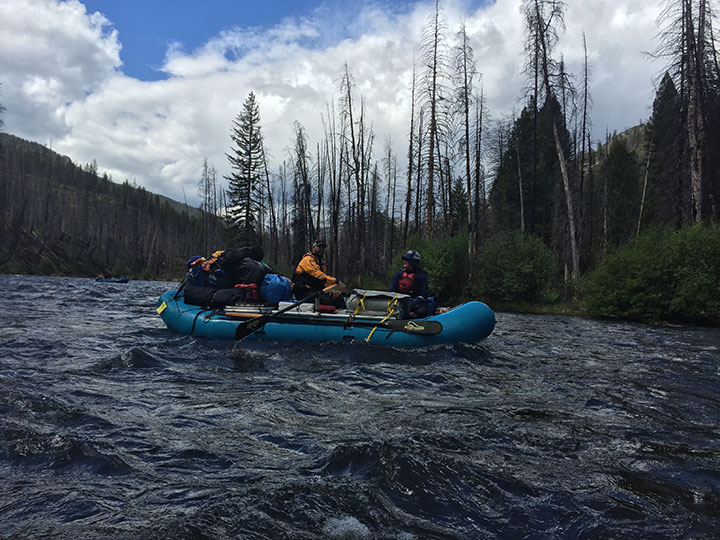 Middle Fork Salmon River Idaho Otis Craig