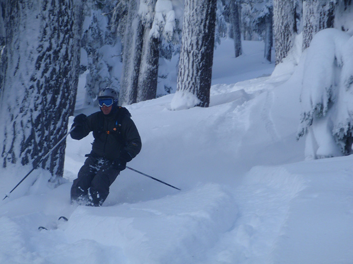 Backcountry Skiing in the Sisters Wildersness